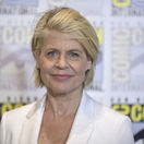 Herečka Linda Hamilton na predstavení filmu Terminator: Dark Fate.