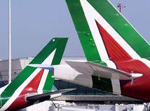 Taliansko / letisko / Rím / lietadlo /
