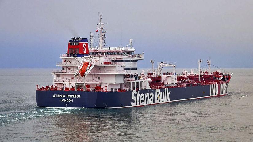 tanker, ropa, Hormuzský prieliv, irán,...
