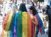 duhový pride 2019, bratislava, LGBTI, vlajka dúhová
