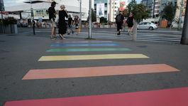 duhovy pride 2019, chodník, dúha, priechod, prechod pre chodcov, bratislava, LGBTI