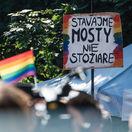Ulice Bratislavy rozžiaril Dúhový Pride