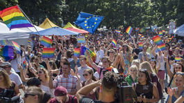 Dúhový Pride festival sprievod Bratislava pochod