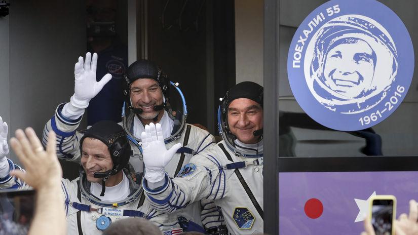 ISS, kozmonauti, Andrew Morgan, Luca...