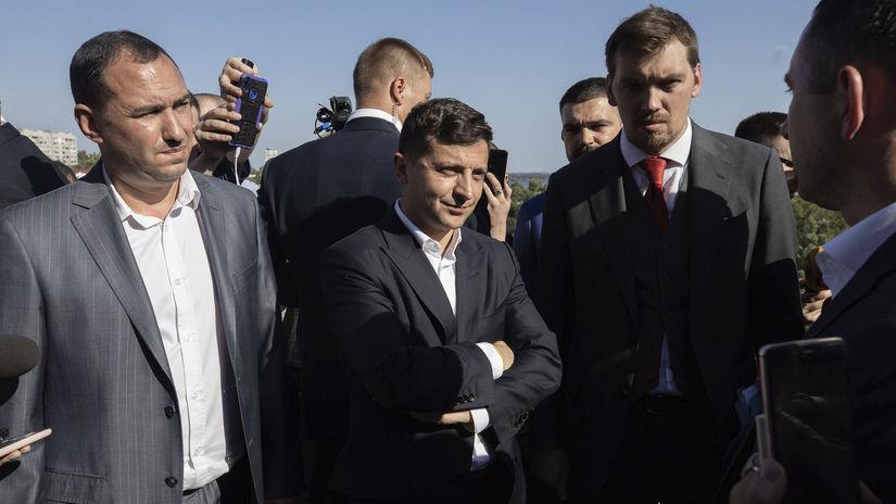 ukrajina, voľby, Volodymyr Zelenskyj