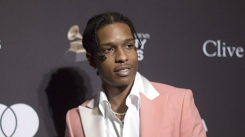 Americký rapper A$AP Rocky na archívnom zábere.