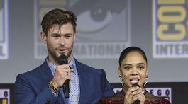 Chris Hemsworth a Tessa Thompson