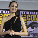Herečka Angelina Jolie na akcii Comic-Con International v San Diegu.