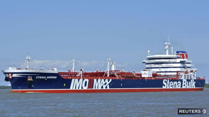 hormuzský prieliv, ropný tanker, Stena Impero,...