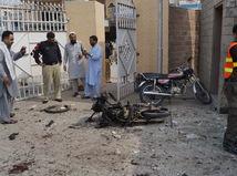 Pakistan, taliban, smaovražedný útok