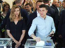 Ukrajina voľby parlamentné predčasné volodymyr zelenskyj