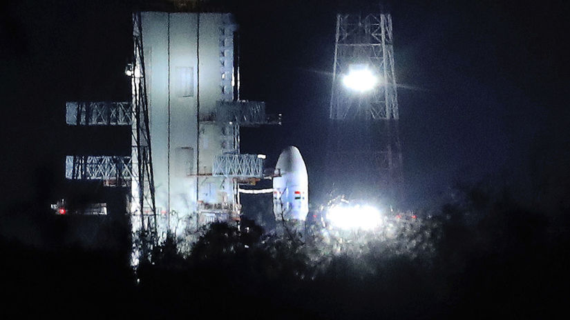 čandraján, india, kozmická loď