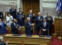 Grécko / parlament /