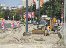 Dúbravka, Karlova Ves, rekonštrukcia, trať, električky, radiála