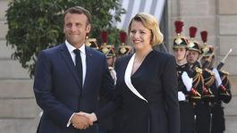 Francúzsko SR Čaputová Francúzsko návšteva oficiálna