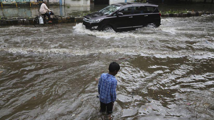 India / počasie / monzún / záplavy /