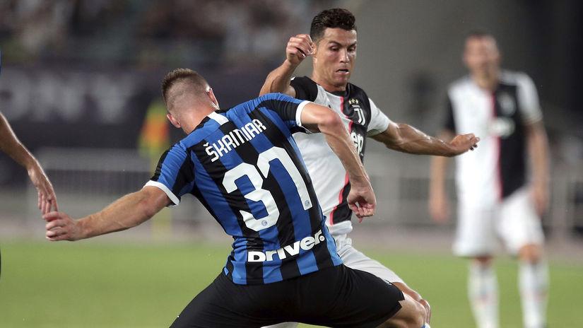 Škriniar, Ronaldo