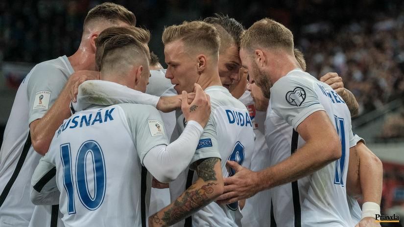 futbal kvalifikacia MS Slovensko