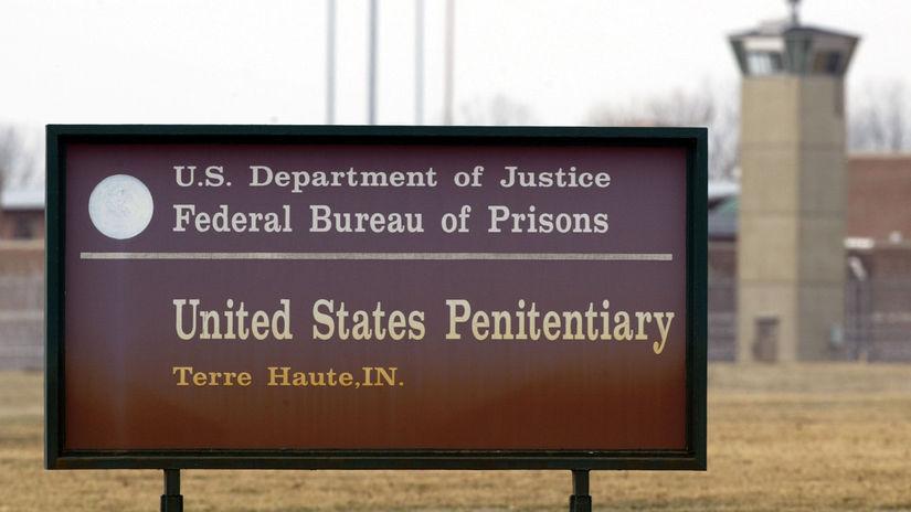 Terre Haute / USA / väzenie /