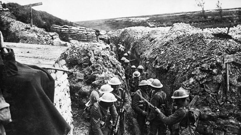 zákopy, 1. svetová vojna