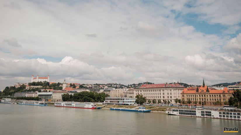 bratislava, mesto, dunaj