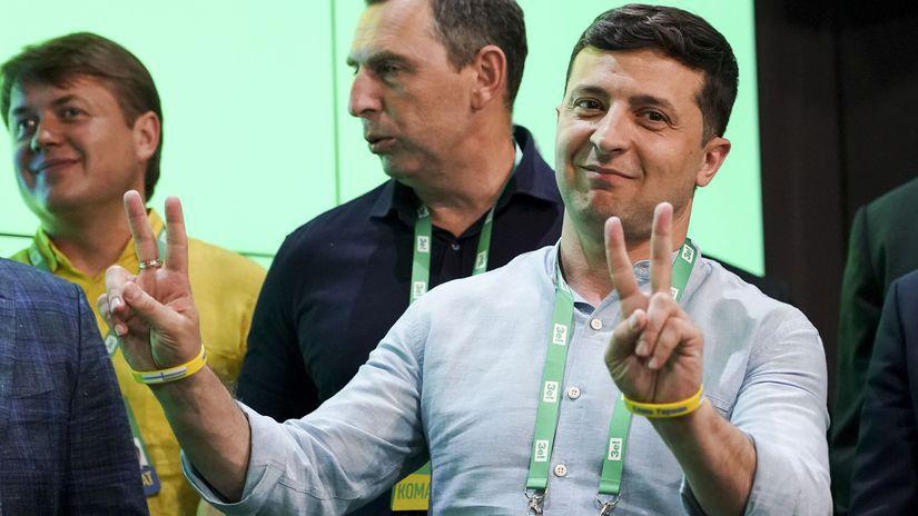 ukrajina, volodymyr zelenskyj, voľby