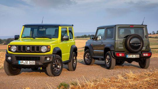 Suzuki Jimny: Najmenší off-road prezradil výbavu