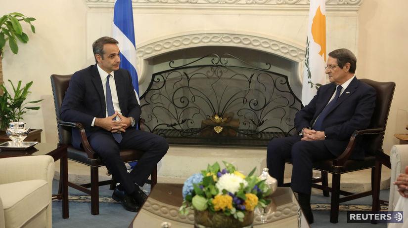 Cyprus / Grécko / Kyriakos Mitsotakis / Nikos...