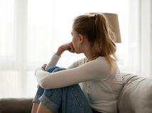 dievča, smútok, starosti