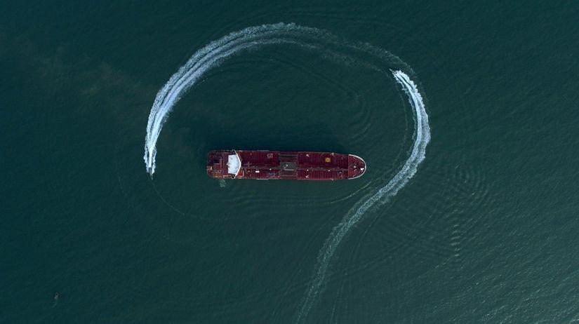 irán, loď, tanker, čln, Stena Impero