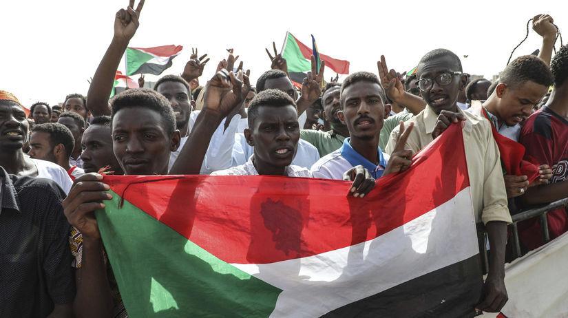Sudán / protesty / obete / pamiatka / pochody /