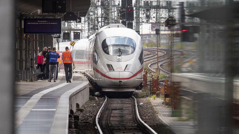 vlak, ice, nemecko,