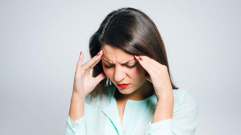 migréna, bolesť hlavy,