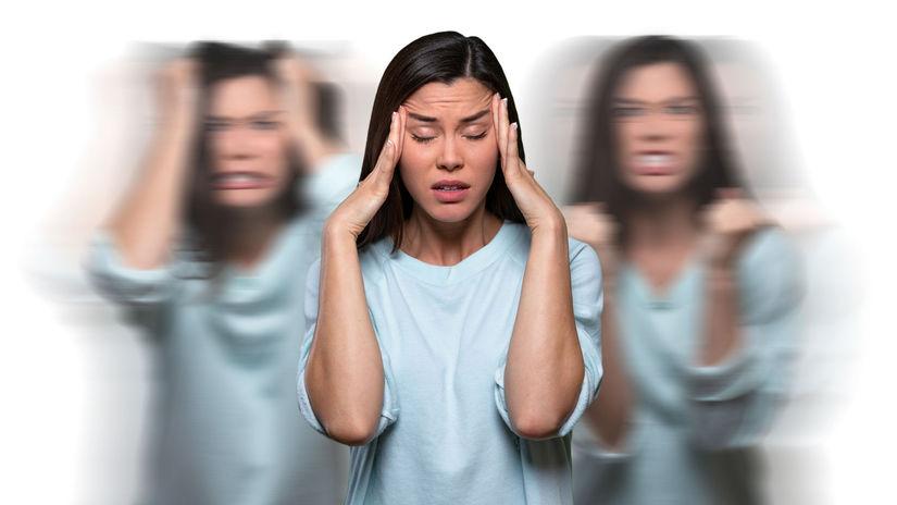 schizofrénia, rozdvojená osobnosť,