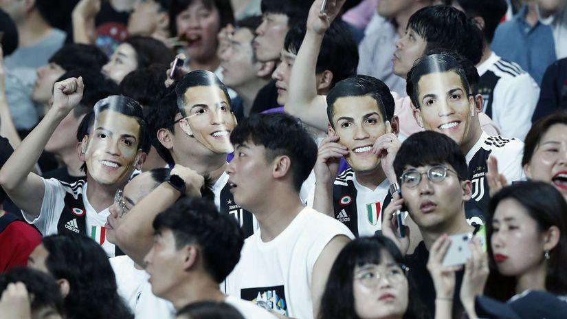 Fanúšikovia, Cristiano Ronaldo