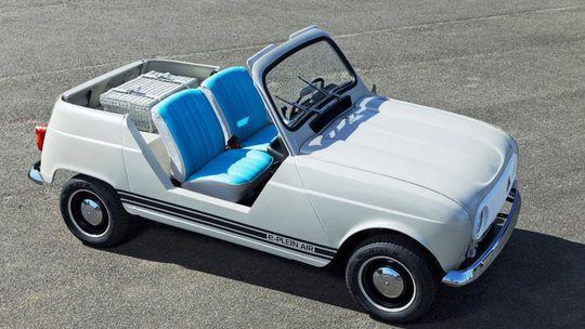 Renault e-Plein Air: Plážové 'Twizy' má dizajn R4. Vyzerá pôvabne