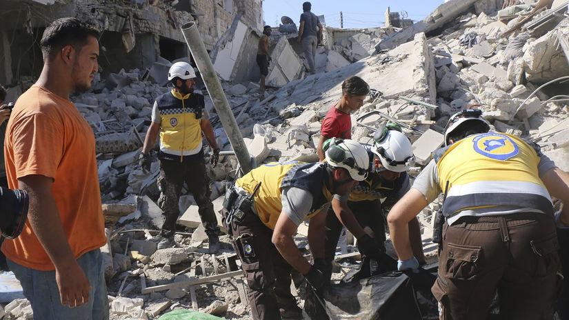Sýria, idlib, NEPOUZIVAT