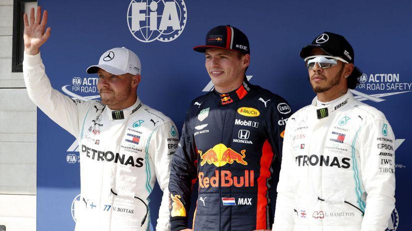 Kvalifikácia F1 Maďarsko