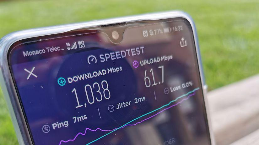 Monaco Telecom, 5G, Huawei Mate 20 X