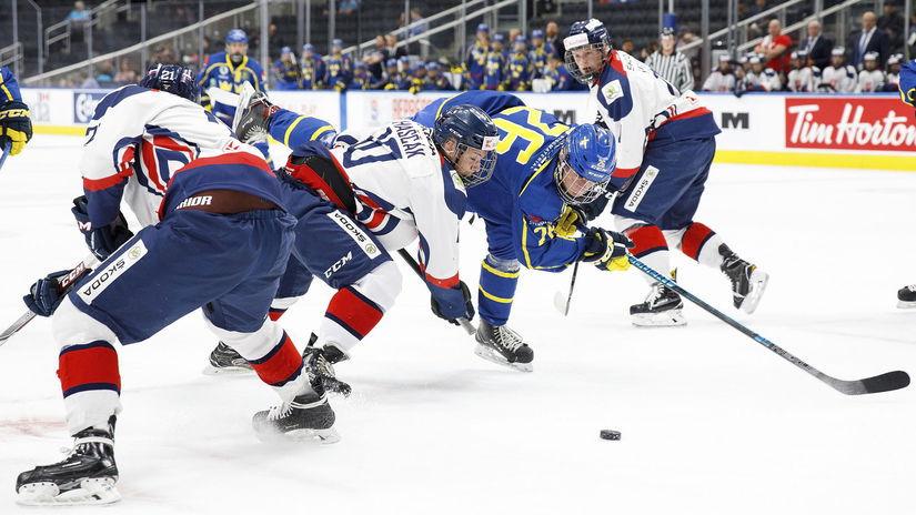 Hlinka Gretzky Cup, hokej