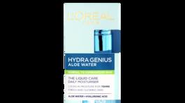 Hydratačná pleťová starostlivosť pre sviežu a rozžiarenú pleť Hydra Genius od L´Oreál Paris