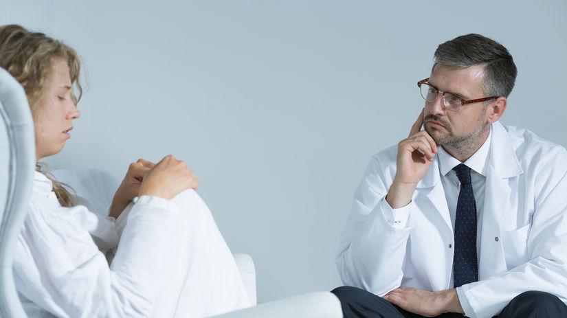 schizofrénia, psychiater, vyšetrenie, terapia,
