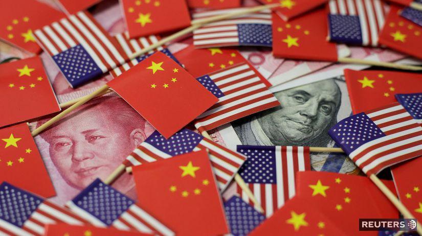 Čína / USA / dolár / juan /