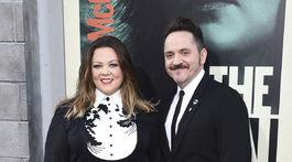 Herečka Melissa McCarthy a jej manžel Ben Falcone.