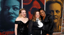 Sprava: herečky Tiffany Haddish, Melissa McCarthy a Elisabeth Moss spoločne predstavili novinku The Kitchen.
