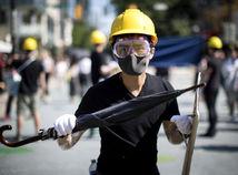 Hongkong  / protest /