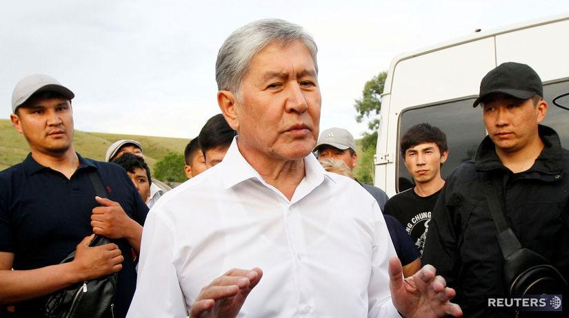 Almazbek Atambajev / Kirgizsko /