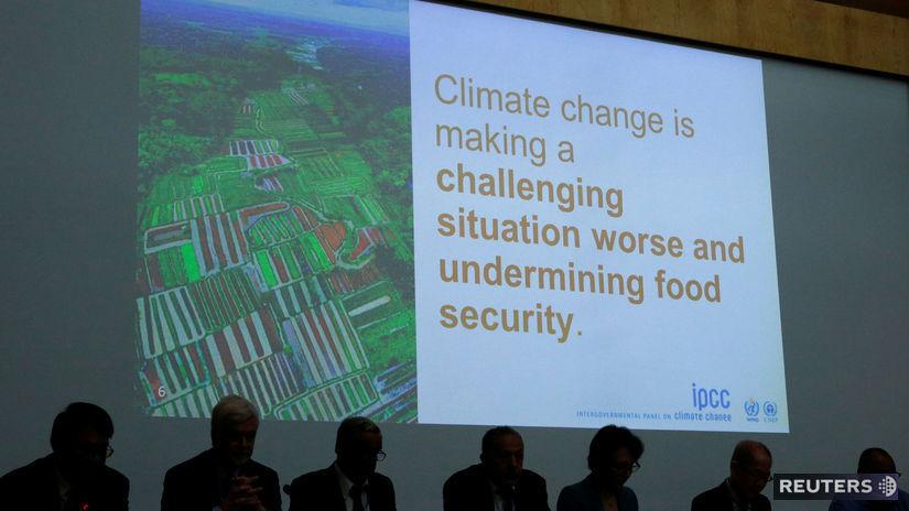 OSN / Ženeva / klimatická zmena /