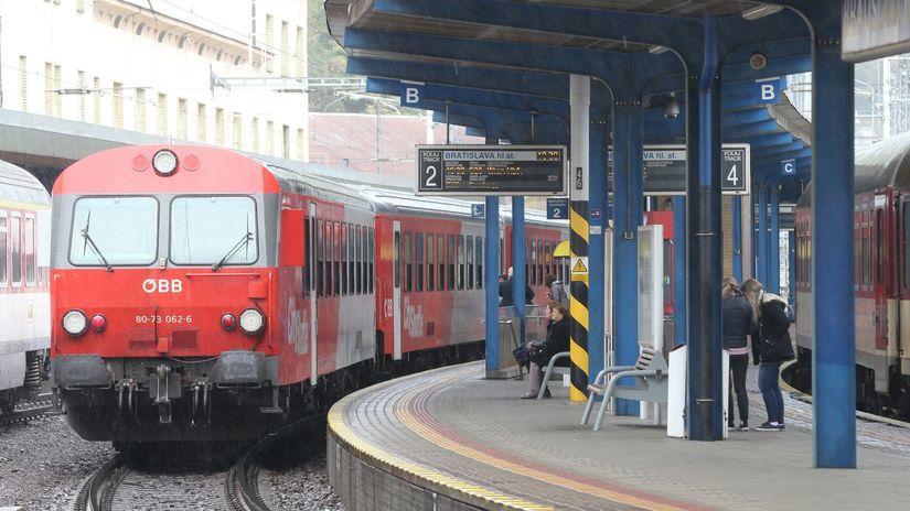 ZSSK, vlak, zeleznice, IC,stanica