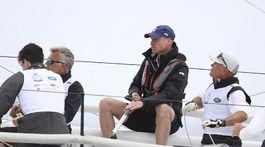 Princ William sa tiež zúčastnil na súťaži neďaleko Isle of Wight.